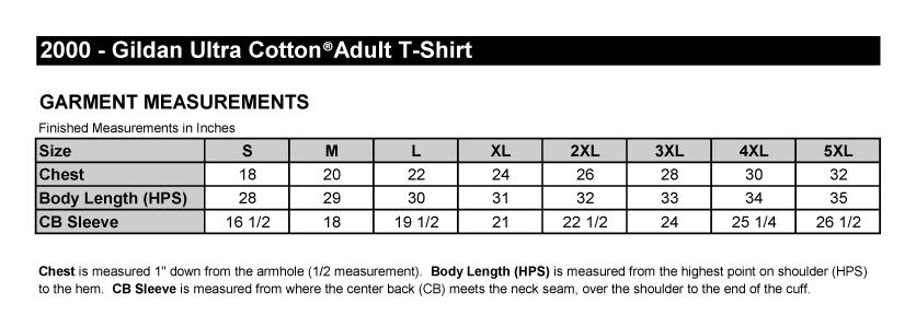 gildan 2000 youth size chart: Gildan 2000 youth size chart gildan 2000l size chart t shirts