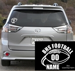 Customized Decal BHS Football