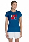 Don't Quit Wildkat Basketball Ladies Performance  Tee