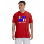 Don't Quit Wildkat Football  Adult Performance Tee