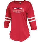 Wildkat Football Ladies Rally Jersey Red
