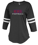 KHS Football Ladies Rhinestone Jersey