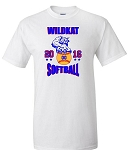 Wildkat 2016 Softball  Adult Tee