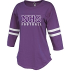 NHS Football Rally Ladies Jersey Glitter