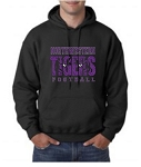 Northwestern Tiger Eyes Sweatshirt (GLITTER)