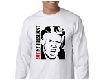 Not My President Long Sleeve  Adult Tee