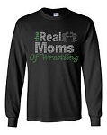 Real Moms Sports Long Sleeve Rhinestone Tee