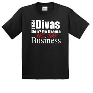 Divas Do Business Short Sleeve Tee
